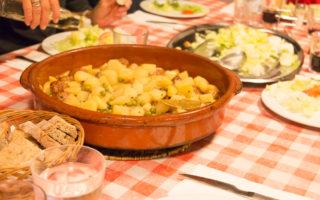 Abendessen Refugi Muleta