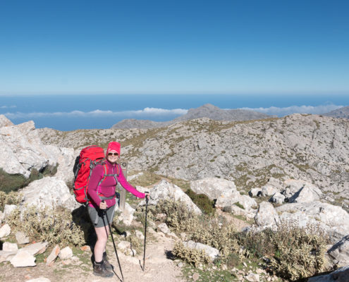 Abstieg vom Coll des Prat