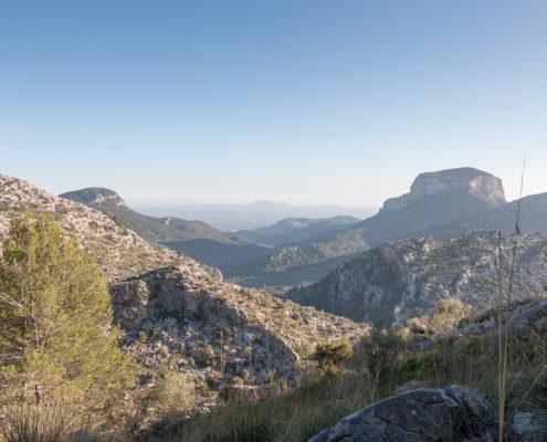 Berg Puig de s´Alcadena