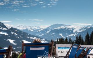 Sonnenschein im Alpeniglu Dorf Hochbrixen