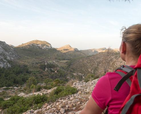 Blick auf den Süd-Westen von Mallorca
