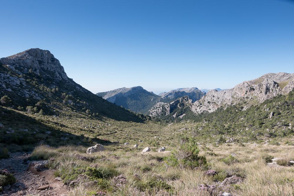 Blick vom Coll des Prat