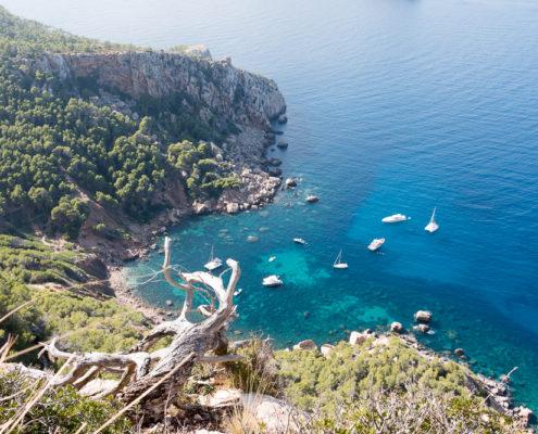 Bucht Cala en Basset auf Mallorca