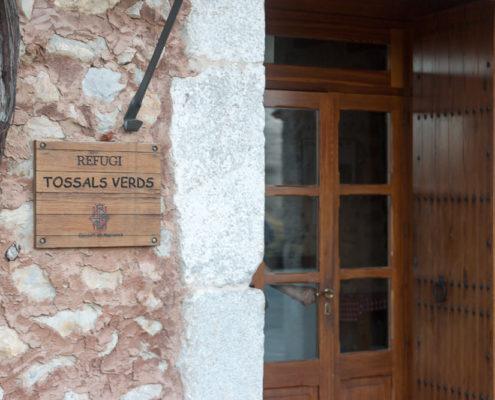 Eingang Refugi Tossals Verds