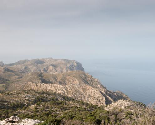 Küstenlinie Sierra de Tramuntana
