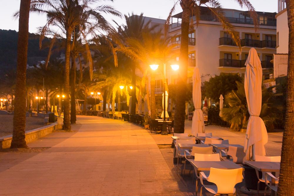 Promenade von Port Soller