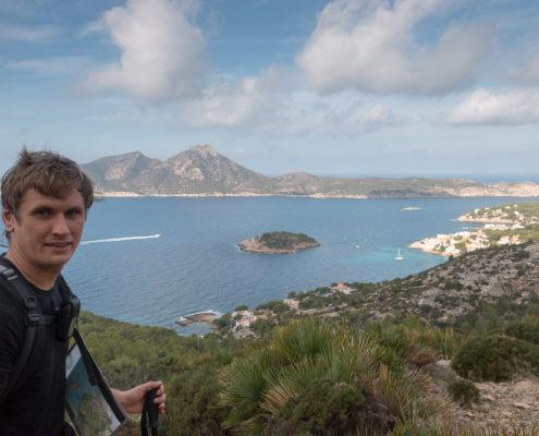 Trockenmauerweg Insel Sa Dragonera