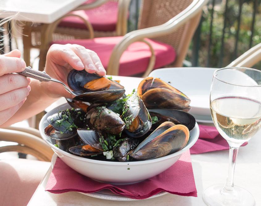 Muscheln Restaurant Vall Hermos