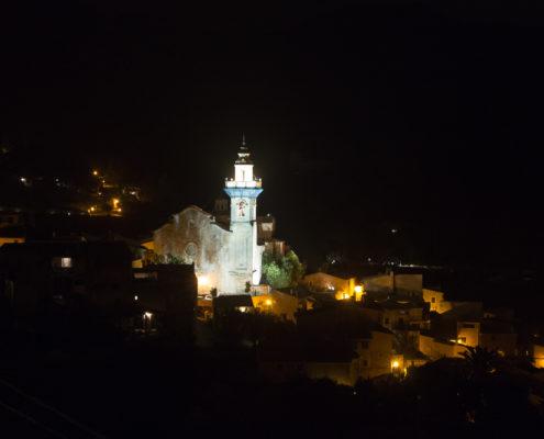 Valldemossa bei Nacht