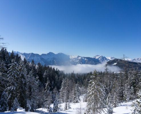 Bergpanorama Salzkammergut