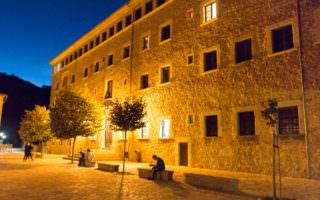 Kloster Lluc am Abend