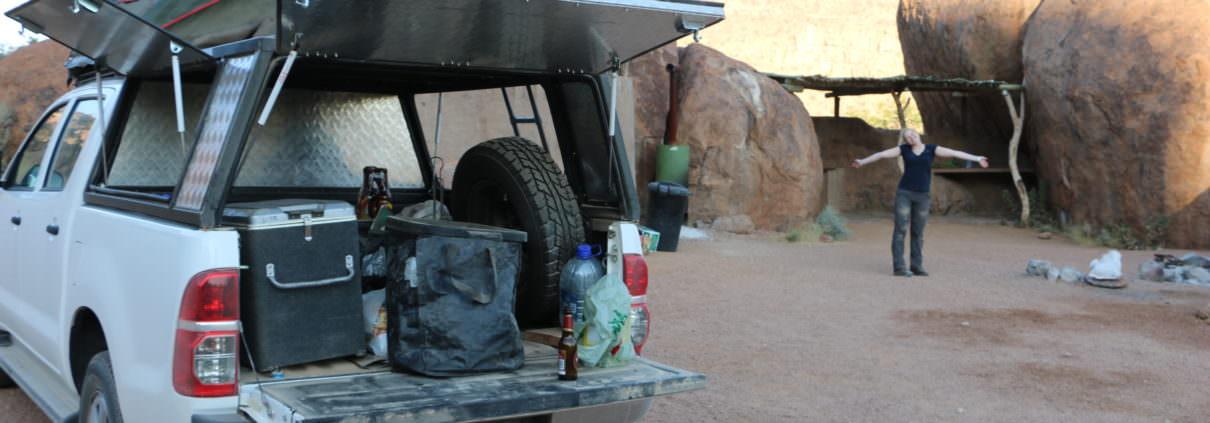 Namibia Packliste