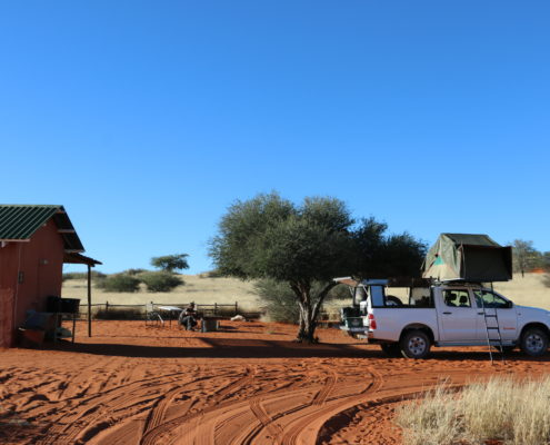 Namibia Roadtrip Kalahari