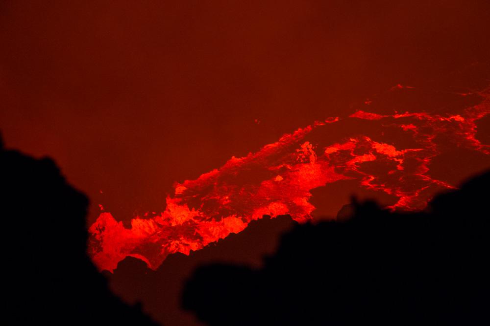 aktive Lava - Erta Ale
