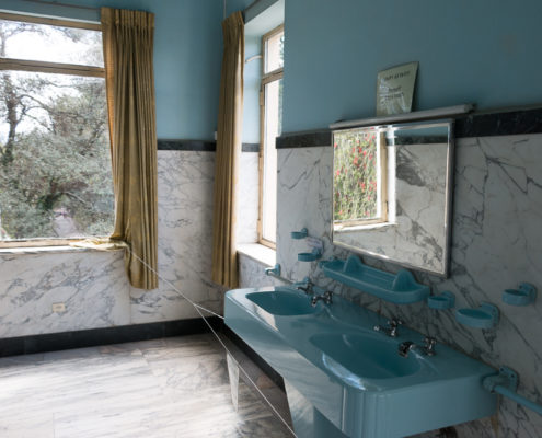 Badezimmer Stadtpalast Kaiser Haile Selassie