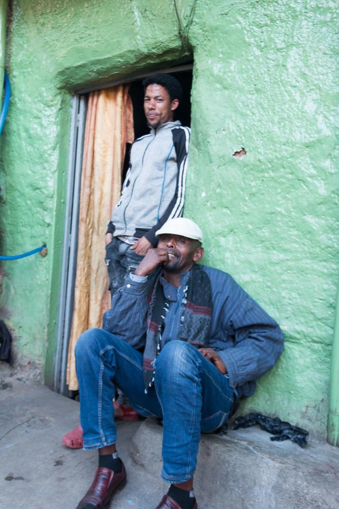 Impressionen Menschen Addis Abeba