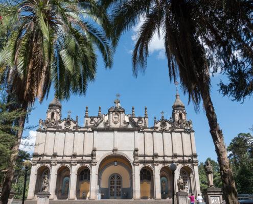 Kathedrale heilige Dreifaltigkeit Addis Abeba Äthiopien