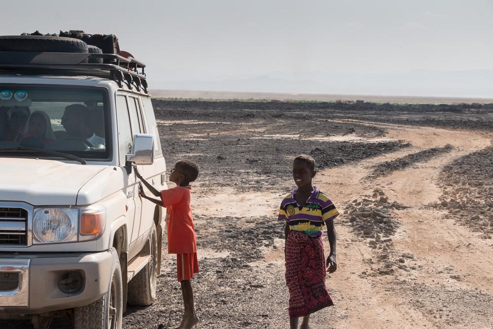 Afar Kinder in Äthiopien