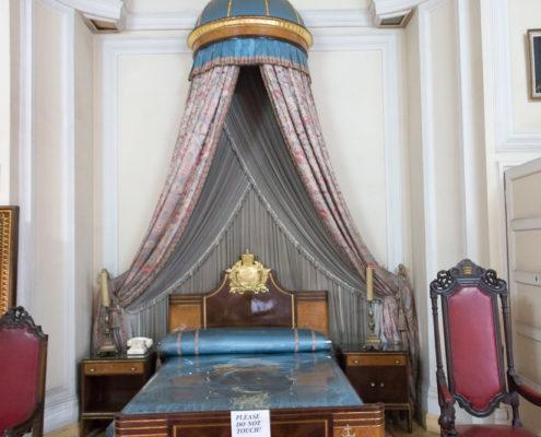 Schlafzimmer im Stadtpalast von Kaiser Haile Selassie