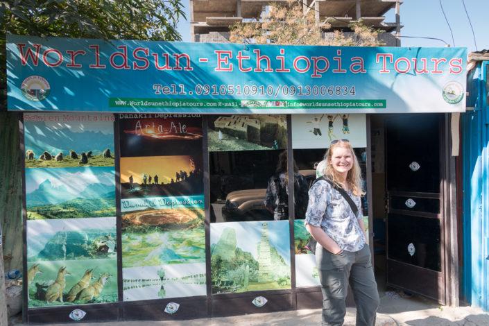 Worldsun Ethiopia Tours Büro in Mekele