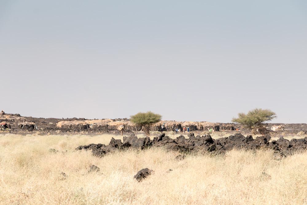 Basislager Erta Ale in der Danakil Wüste