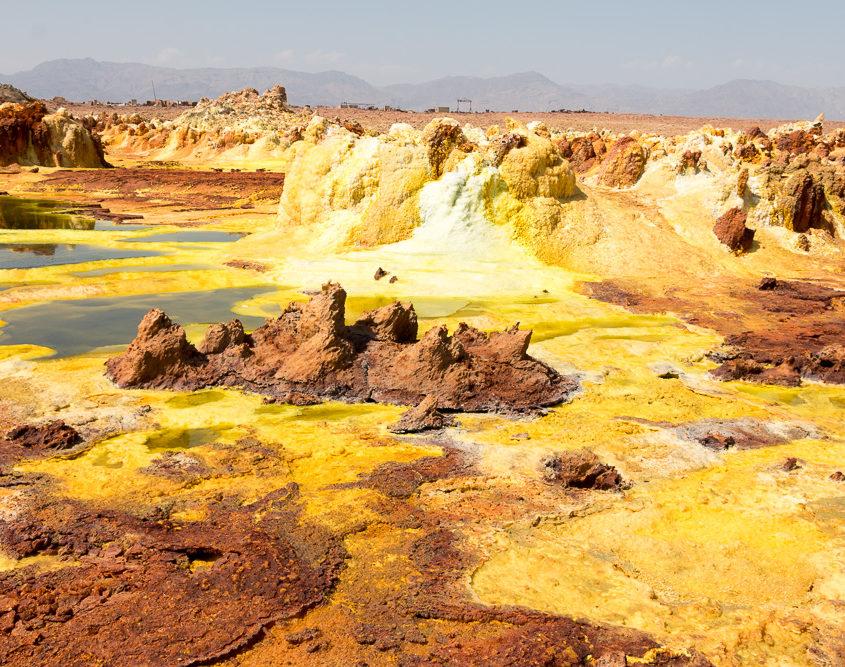 Dallol in der Danakil Wüste