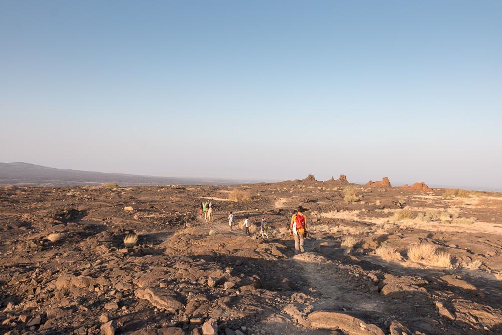 Lavafelder am Erta Ale