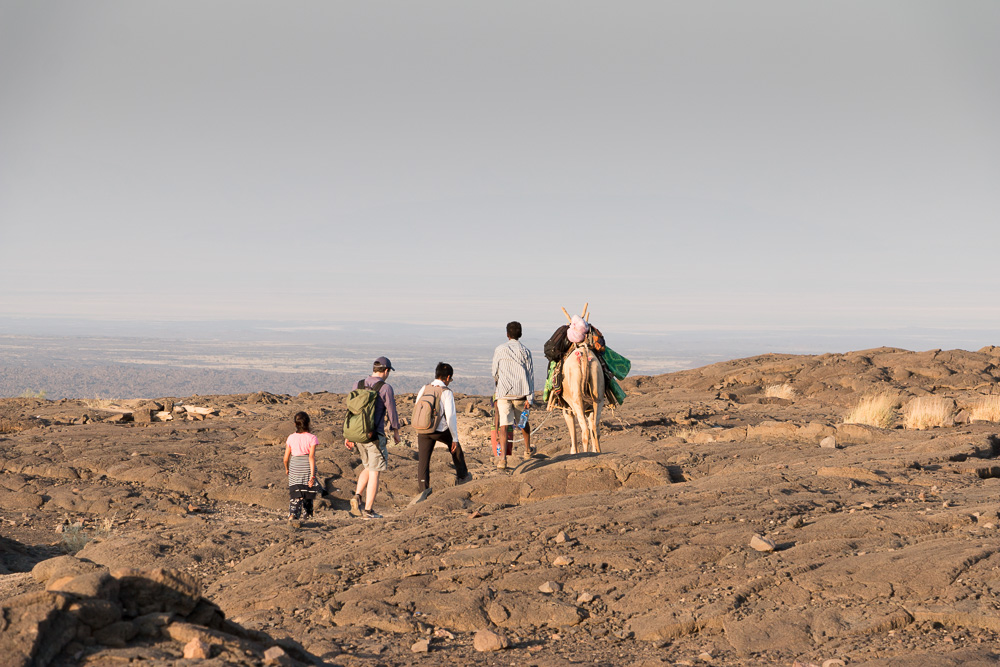 World Sun Ethiopia Tours Gruppe am Erta Ale