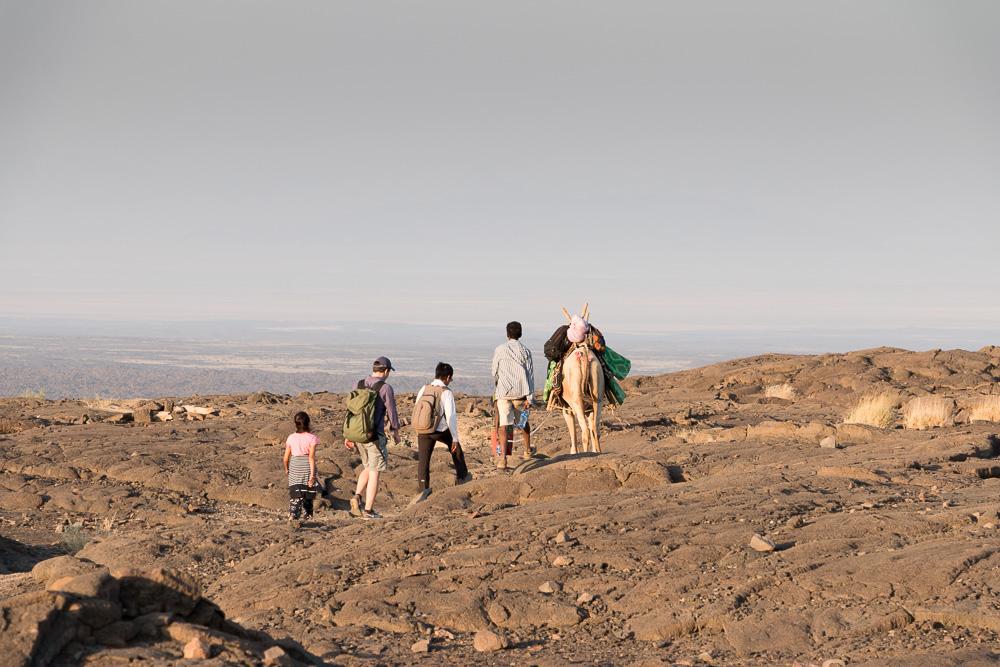World Sun Ethiopia Tours Gruppe am Erta Ale