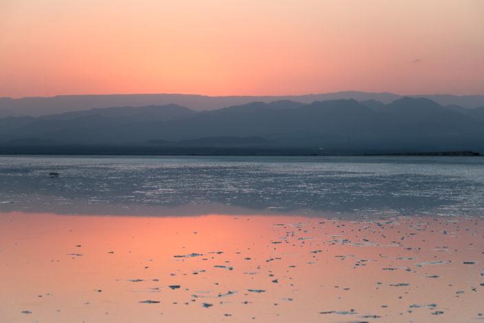 Abend in der Danakil-Senke