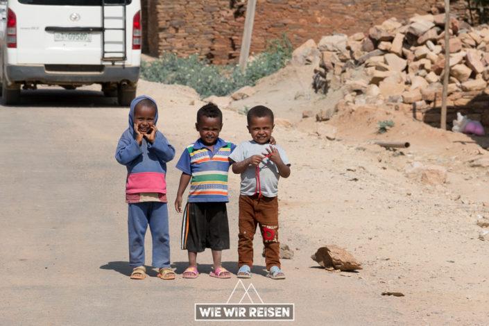 Kinder Äthiopien