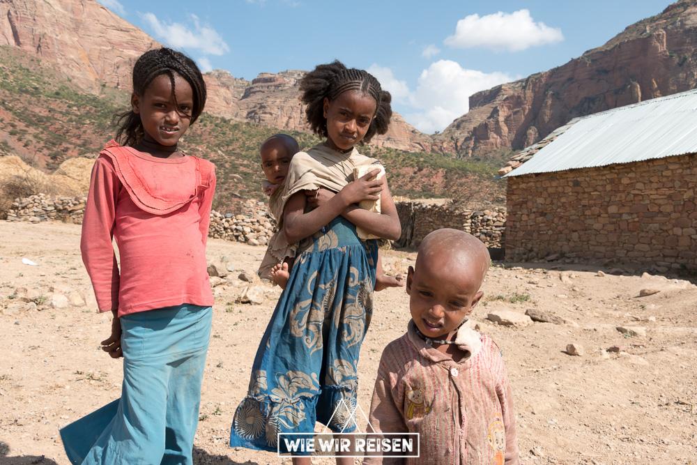 Kinder in Gheralta - Äthiopien