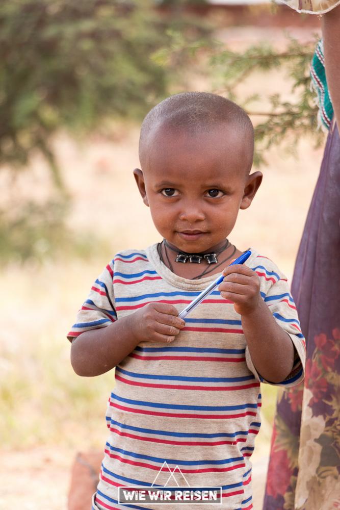 Kleiner Junge in Gheralta