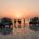 Sonnenaufgang am Ass Ale Salzsee
