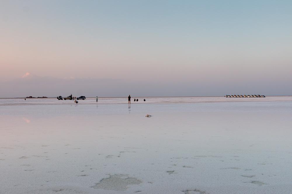 Touristen in der Danakil