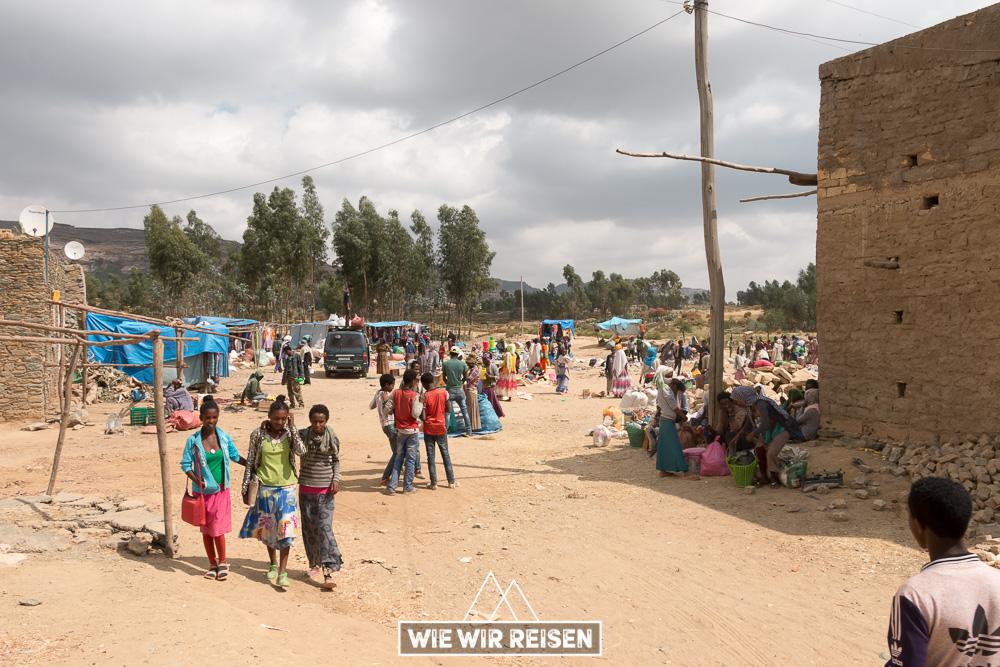 Wochenmarkt in Äthiopien