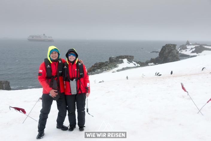 Dirk und Dodo auf Halfmoon Island