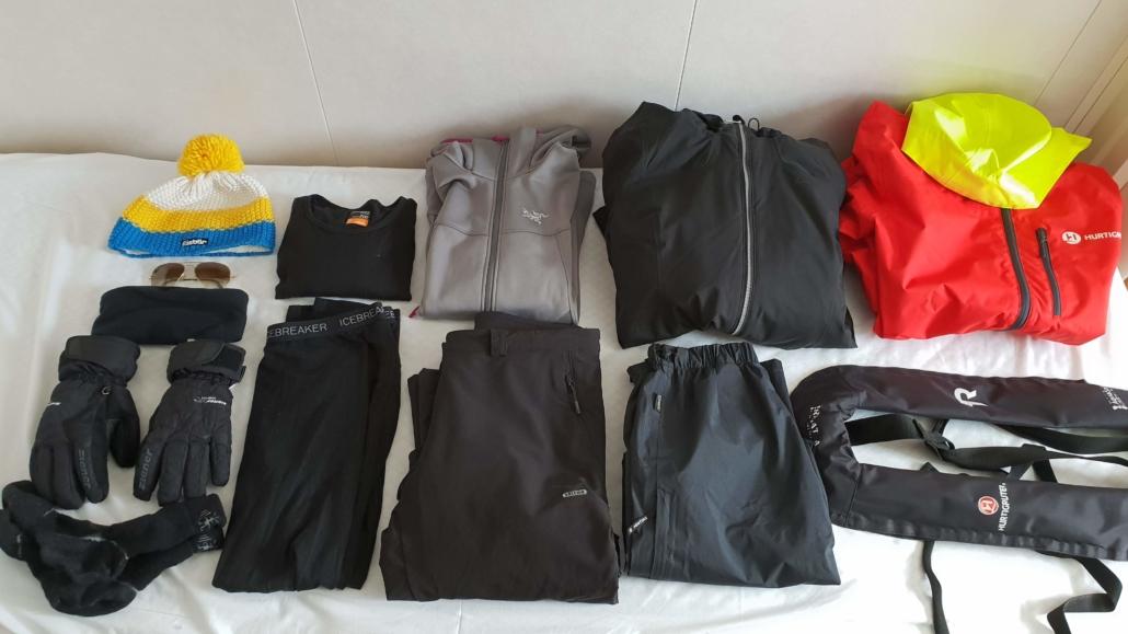 Kleidung Antarktis Expedition