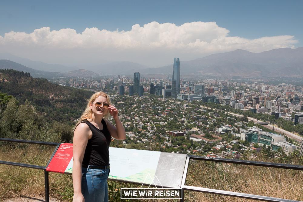 Mirador Hundimiento im Park Bicentenario