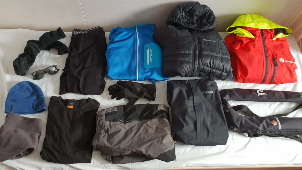 Kleidung Antarktis Kreuzfahrt