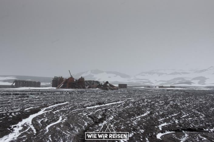 Ruinen von Whalers Bay Antarktis