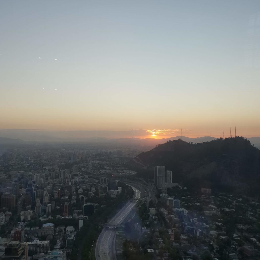 Sonnenuntergang Sky Constanera