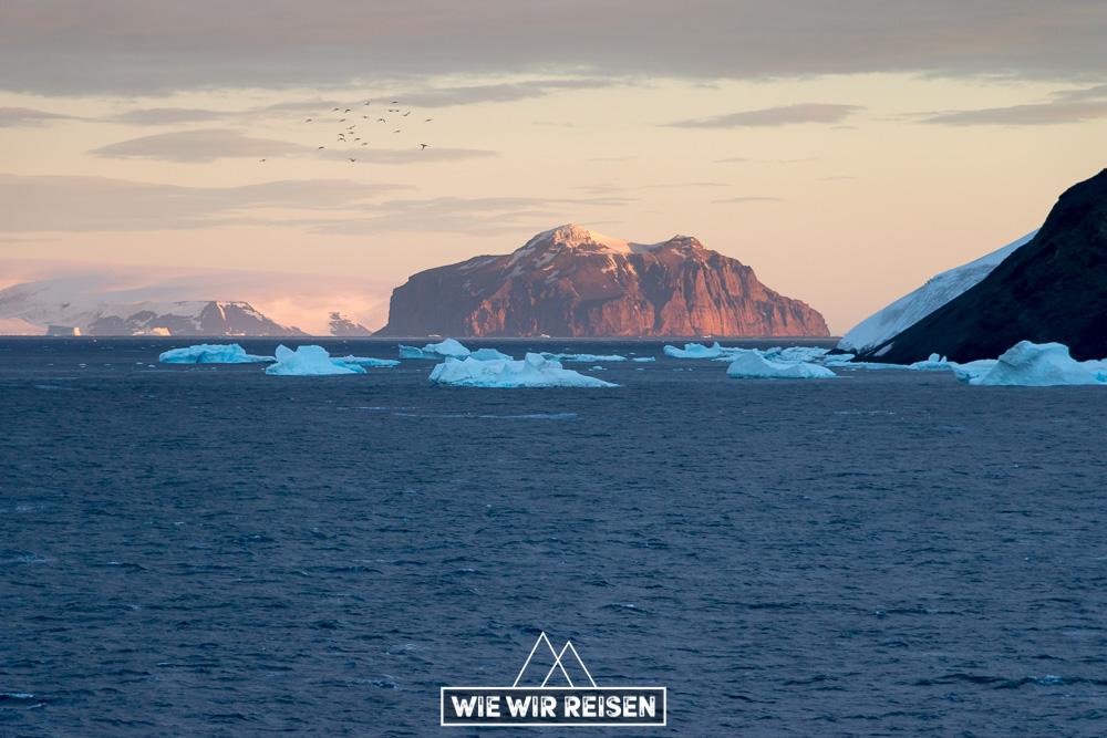 Abendstimmung Antarctic Sound Antarktis