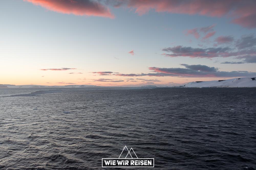 Abendstimmung Antarctic Sound