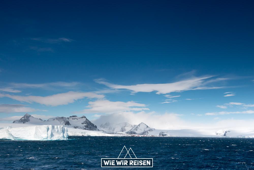 Antarktis mit Hurtigruten - Cruisen im Antarctic Sound