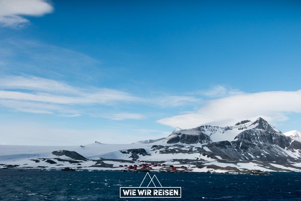 Argentinische Militärbasis Esperanza - einer der ältesten Stationen in der Antarktis