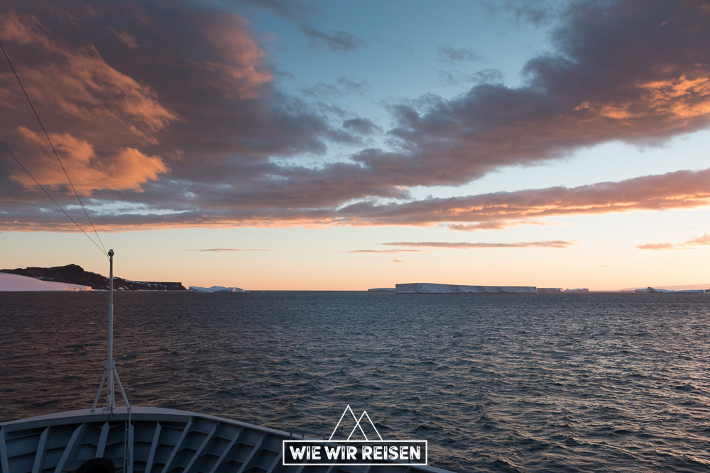 Tafeleisberge aus dem Wedellmeer