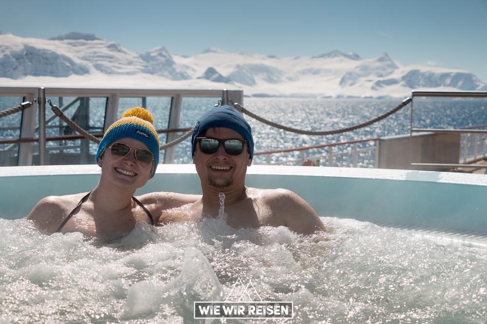 Whirlpool MS Midnatsol in der Antarktis