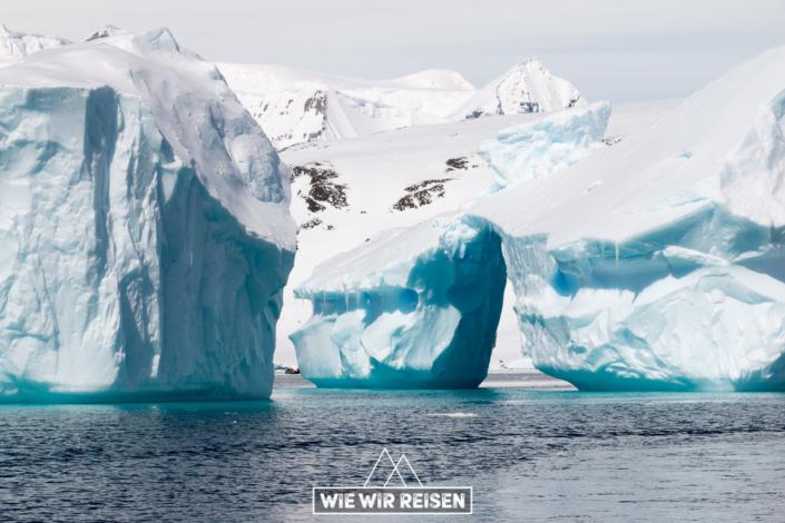 Eisformationen Antarktis