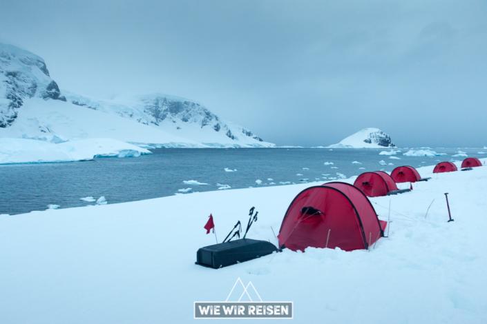 Hilleberg Zelte in der Antarktis